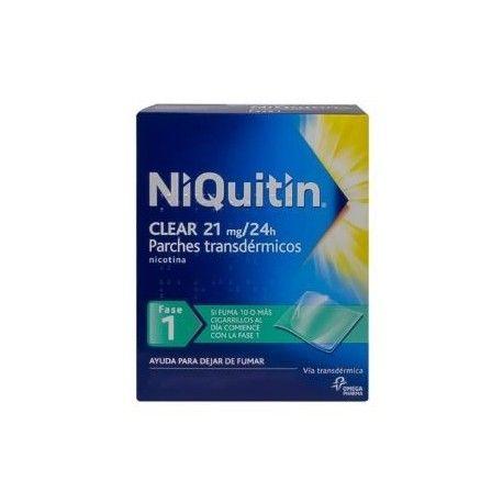Niquitin Clear 21 mg/24 H 28 Parches Transdermicos 114 mg
