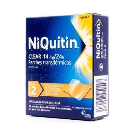 Niquitin Clear 14 mg/24 H 14 Parches Transdermicos 78 mg