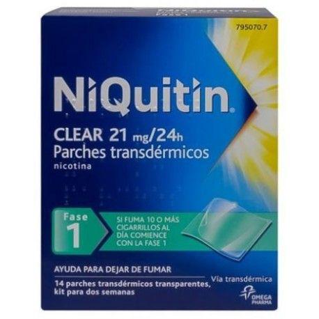 Niquitin Clear 21 mg/24 H 14 Parches Transdermicos 114 mg