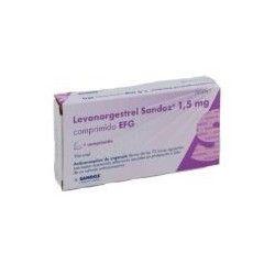 Levonorgestrel Sandoz EFG 1.5 mg 1 Comprimido