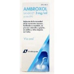 AMBROXOL SANDOZ CARE EFG 3 MG/ML JARABE 125 ML