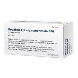 Moonbell EFG 1.5 mg 1 Comprimido
