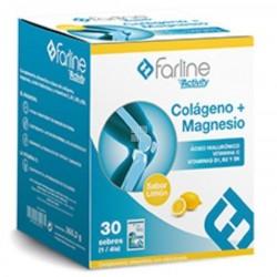 FARLINE COLAGENO +MAGNESIO 30 SOBRES SABOR LIMON