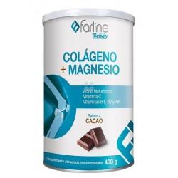 FARLINE ACTIVITY COLAGENO + MAGNESIO SABOR CACAO 400G