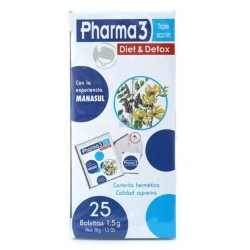 PHARMA 3 TRIPLE ACCION 25 BOLSAS