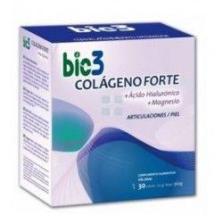 Bio 3 Colageno +Ac Hialuronico+ Magnesio Forte 30 Sobres