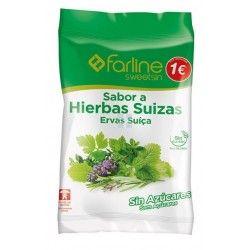Farline Sweetsin Caramelos Hierbas Suizas Bolsa 40 G