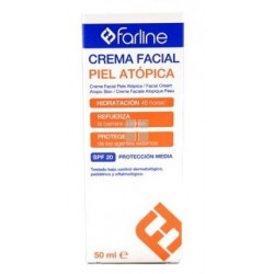 FARLINE CREMA FACIAL PIEL ATOPICA SPF 20 50 ML