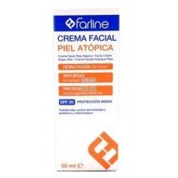 Farline Crema Facial Piel Atopica SPF 20 50 ml