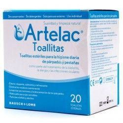 Artelac Toallitas Esteriles Oculares 20 uds