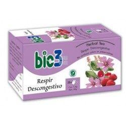 Bio3 Respir Descongestivo Especial Fumadores 25 Bolsitas