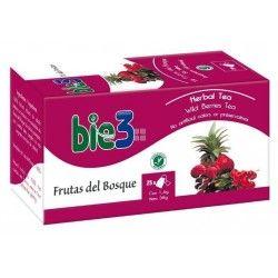 Bie 3 Te Frutas Del Bosque 25 Bolsitas