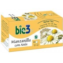 Bie 3 Manzanilla Anis 25 Bolsitas
