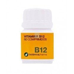 Vitamina B12 Botanicapharma 60 Comprimidos 500mg