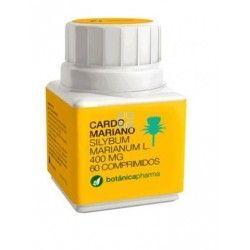 Cardo Mariano Botanicapharma 400 mg 60 Comprimidos
