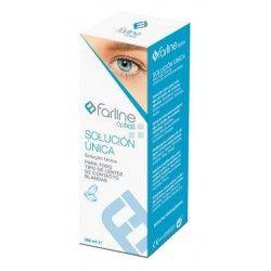 Farline Optica Solucion Unica Lentes de Contacto 360 ml
