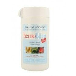 Hemofarm Plus Toallitas 60 Toallitas Bote