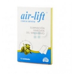 Air Lift Chicle Aceite Oliva Aliento 12 uds