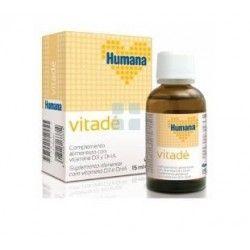 Humana Vitadè Vitamina D3 15 ml