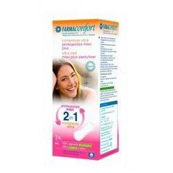 Farmaconfort Compresas Higienicas Femeninas 2 En1 Maxi Plus 24 uds