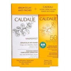 CAUDALIE COFRE VINOPERFECT SERUM 30ML + CREMA SOLAR SPF50 25ML DE REGALO