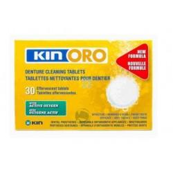 Kin Oro Tabletas Limpiadoras 30 Pastillas Limpiadoras