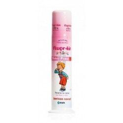 Kin Fluorkin Infantil Pasta Dental con Dosificador Fresa 100 ml
