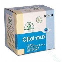 El Naturalista Oftalmax Infusion para Lavado de Ojos 10 Bolsitas