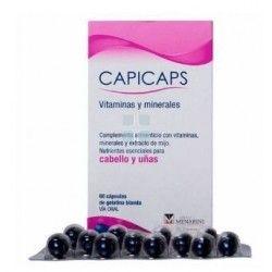 Capicápsulas Cabello y Uñas 60 cápsulas