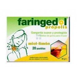Faringedol Sabor Miel - Limon 20 Pastillas