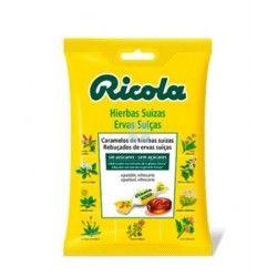 Ricola Caramelos Sin Azucar Hierbas con Stevia Bolsa 70 gr