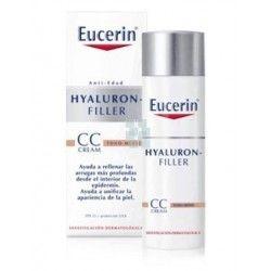 EUCERIN HYALURON CC CREME TONO MEDIO ANTI-EDAD 50 ML
