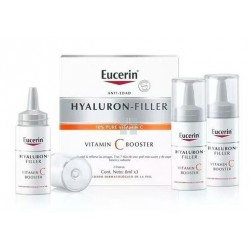Eucerin Hyaluron Filler Vitamina C Booster 3 Ampollas x 8 ml