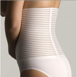 Faja Lumbar Farmalastic Velcro Blanca Talla 1
