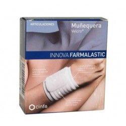 Muñequera Velcro Farmalastic Innova Talla G-Eg