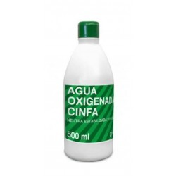 AGUA OXIGENADA CINFA 500 ML