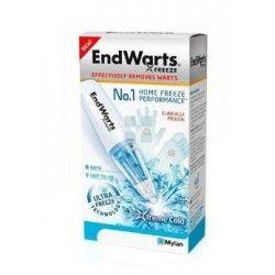 Endwarts Freeze Lapiz Elimina Verrugas 7.5 gr + 6 Puntas Desechables