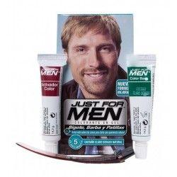 Just For Men Bigote Barba y Patillas Tono Castaño Claro Natural 30 ml