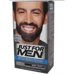 Just For Men Bigote, Barba y Patillas Tono Negro M-55 630 ml