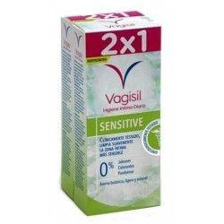 Vagisil Gel Higiene Intima Sensitive Duplo 2 x 250 ml