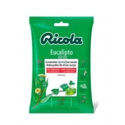 Ricola Caramelos Sin Azucar Eucalipto Bolsa 70 gr