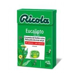 Ricola Caramelos Sin Azucar Eucalipto 50 gr