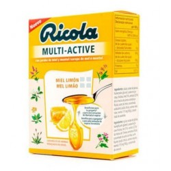 Ricola Multi - Active Miel y Limon 51 gr