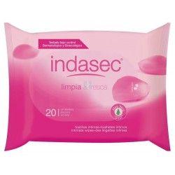 Indasec Toallitas Higiene Intima 20 uds