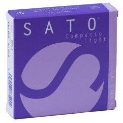 SATO MAQUILLAJE COMPACTO LIGHT 12 G
