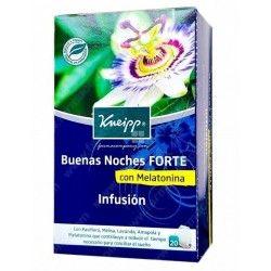 KNEIPP INFUSION BUENAS NOCHES FORTE CON MELATONINA 20 BOLSITAS