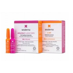 SESDERMA TRATAMIENTO FLASH PEELING + LUMINOSIDAD 2 AMPOLLAS