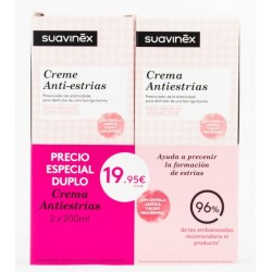 Suavinex Crema Antiestrias Duplo 200 ml