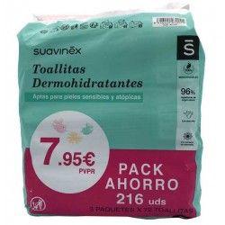 Pack Ahorro Toallitas Suavinex 216 uds