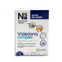 N+S VALERIANA COMPLEX 15 COMPRIMIDOS